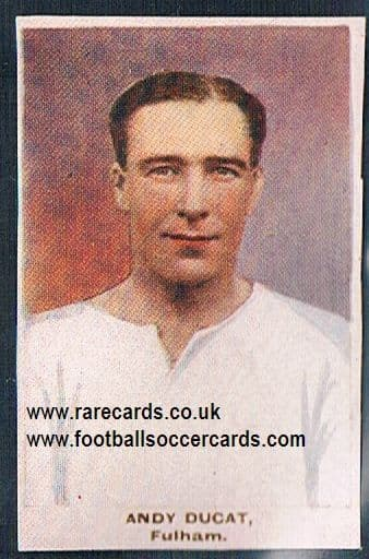 1923 Adventure Gallery Famous Club Colours Players Fulham Ducat
