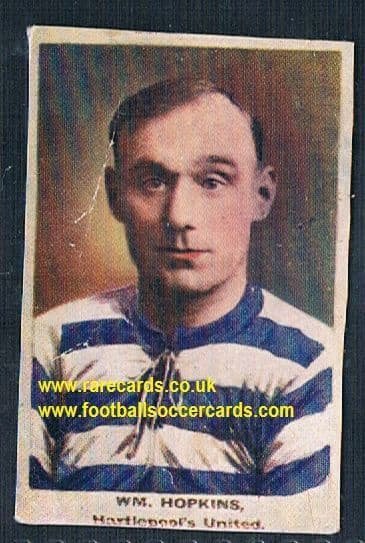1923 Adventure Gallery Famous Club Colours Players Hartlepool Hopkins