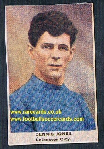 1923 Adventure Gallery Famous Club Colours Players Leicester Jones