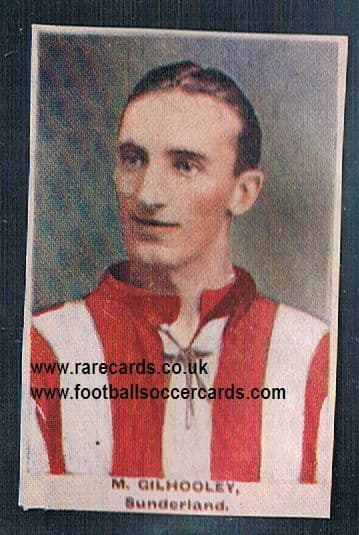 1923 Adventure Gallery Famous Club Colours Players Sunderland Gilhooley