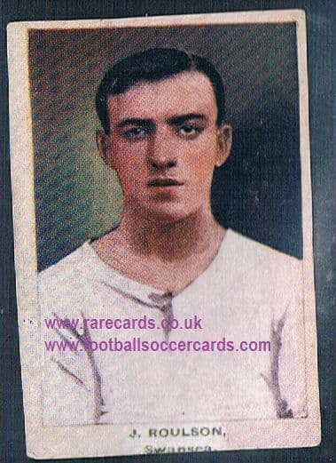 1923 Adventure Gallery Famous Club Colours Players Swansea T Roulson