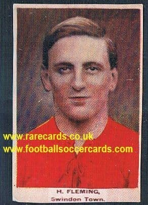 1923 Adventure Gallery Famous Club Colours Players Swindon Fleming