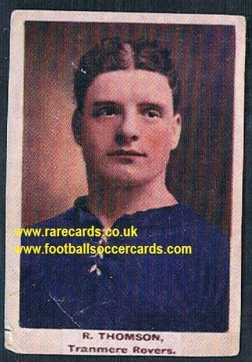 1923 Adventure Gallery Famous Club Colours Players Tranmere Rovers Thomson