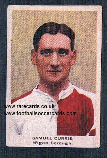 1923 Adventure Gallery Famous Club Colours Players Wigan Borough Currie