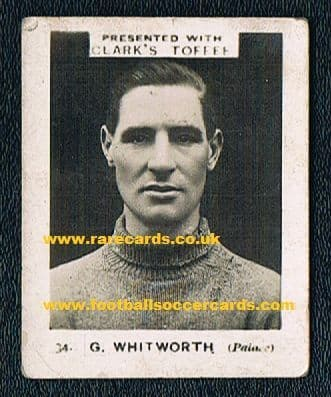 1923 Whitworth Rushden Windmill Crystal Palace Clark's