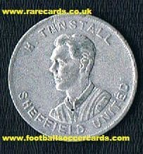 1923 Wizard car coin Fred Tunstall Alvis