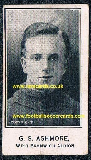 1926 Barratt  Ashmore WBA West Brom