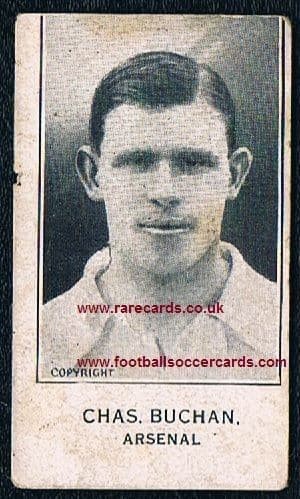 1926 Barratt Chas Buchan Arsenal Sherbet