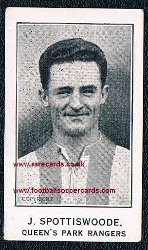 1926 QPR Joe Spottiswoode Swansea