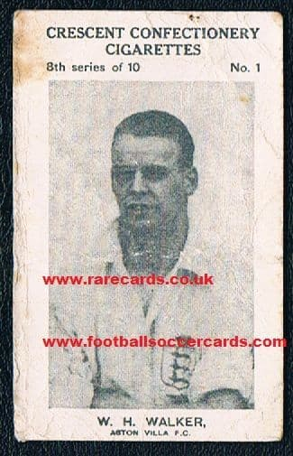 1929 Crescent Billy Walker Forest Wednesday Villa England