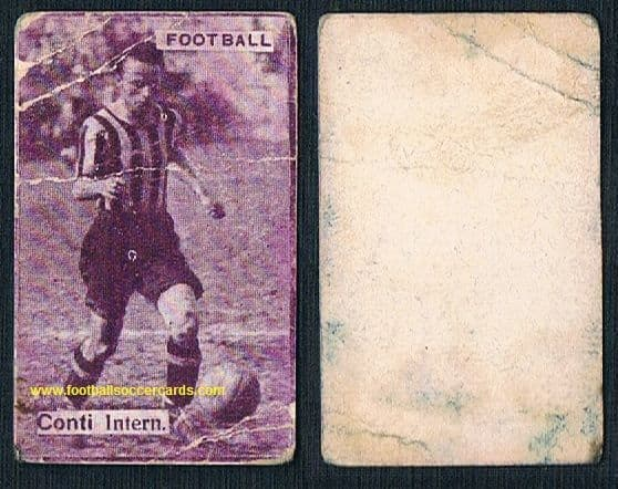 1930 Leopoldo Conti INTER card from Italy, low price creased