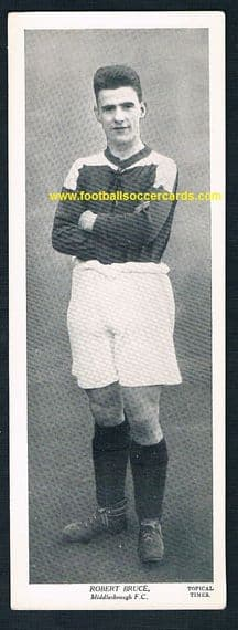 1933 Robert Bruce BORO Scottish-only issue by Topical Times