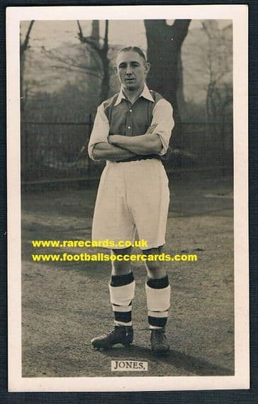 1934 Charlie Jones NF Arsenal pc L&J