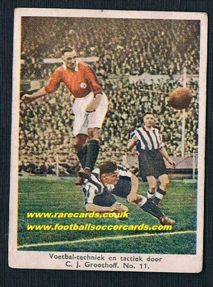 1934 Groothoff Arsenal Newcastle Jack