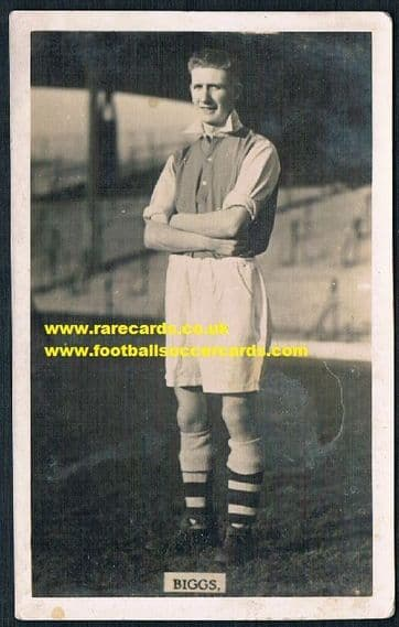 1935 Biggs Arsenal Hearts Luton Palace