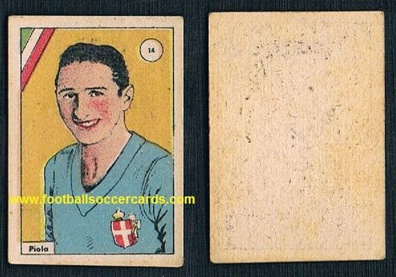 1938 Piola flag card by Balilla fascist Italian empire issue card