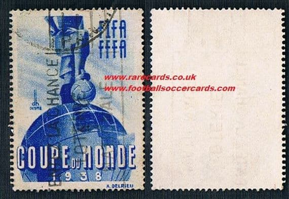1938 WC38 original World Cup stamp