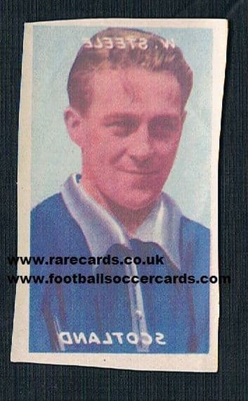 1948 Billy Steel Scotland Bailey transfer