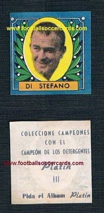 1953  blue  Platin  Spanish Alfredo di Stefano - free of damage