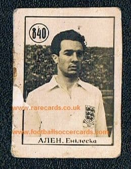 1954 WC54 Allen WBA Port vale Crystal Palace