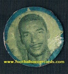 1958 Didi GUARA pog, a product packet-issue circular card cut as intended LEGENDARY ISSUE