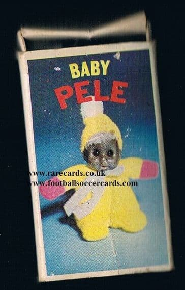 1958 post-WC58 baby Pelé matchbox toy