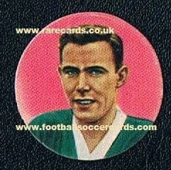 1959 Duncan McKay Celtic Scotland Ferrero chocs card