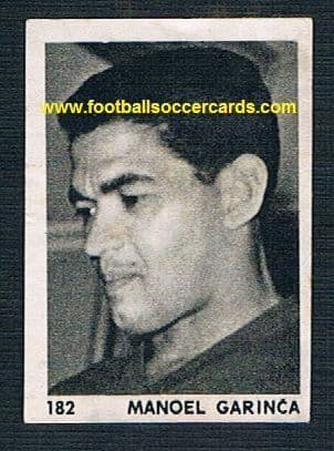 1959 very rare Garrincha of Brazil from Yugoslavia by Zvecevo
