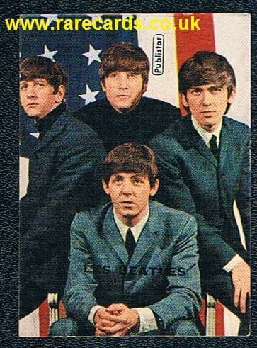1960's French PUBLISTAR Les Beatles card