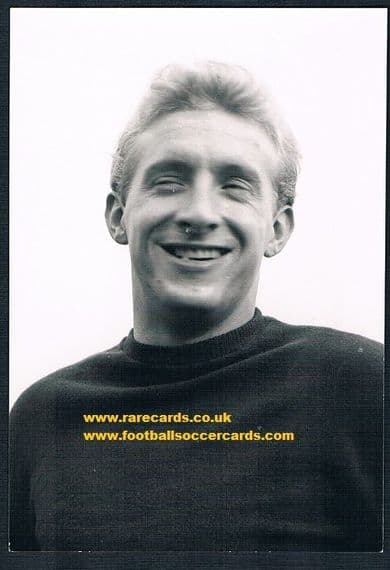 1960s Denis Law photocard
