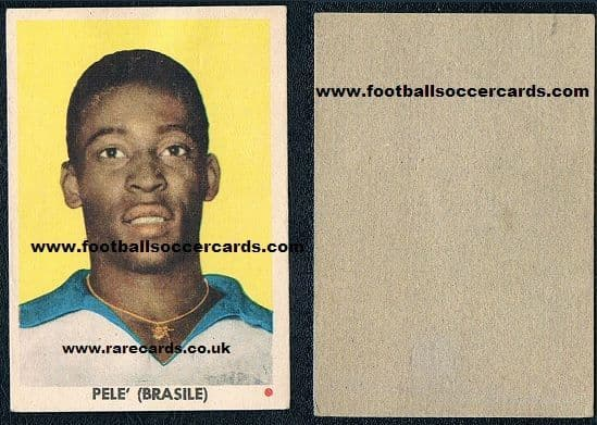 1962 EDI  Pele totally blank back version no number