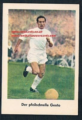 1962 Lutter (similar to Heinerle) Gento of Real Madrid
