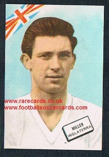 1962 Spanish DisgraFher FKS Brian Miller Burnley England international