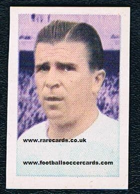 1964 Puskas Ruiz Romero sticker Spain