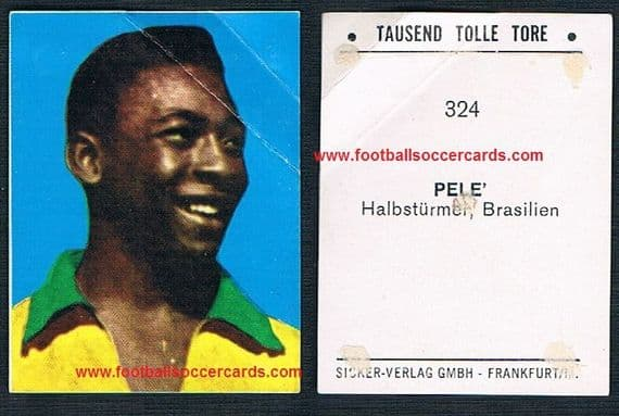 1965 German Pele Tausend Tolle Tore with faults galore but rare