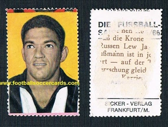 1965 Sicker 65/66 Garrincha - it may clean up, LOW price due to AMR