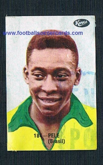 1966 Pele *EXTREMELY RARE* Konga Deporte y Premios Pelé a cancelled Spanish redemption only 2 known!