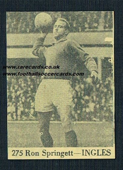 1966 Ron Springett from Peru!