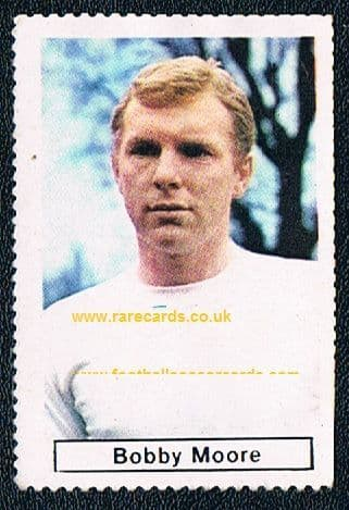1967 Bobby Moore Sicker stamp