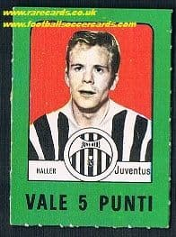 1969 Haller 5 points Juventus