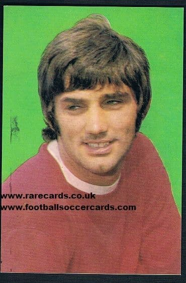 1970 George Best Wizard large card