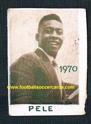 1970 Yugoslavian Pele card Extremely rare card of an early image of the great man