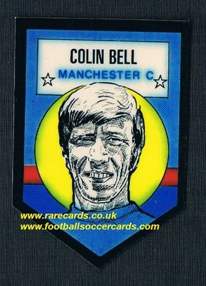 1972 BAB unused Shooting Stars Man City Colin Bell