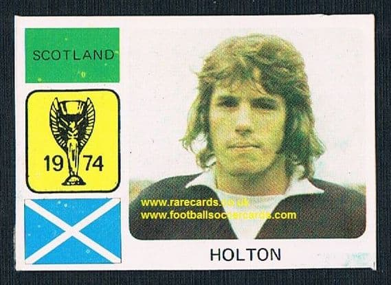 1974 Monty World Cup WC74 sticker Jim Holton Coventry Man Utd Shrewsbury