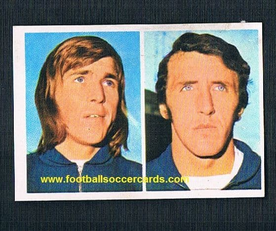 1975 FKS Stars of Scotland sticker Kenny Dalglish  - with AMR hence low price
