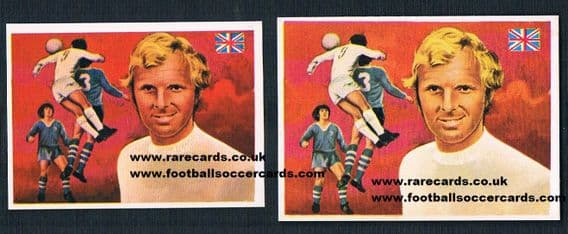 1979 Bobby Moore pair of Quelcom