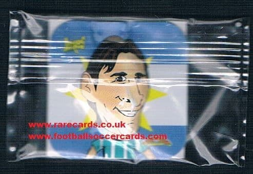 2000s Messi unopened 3D card Spain
