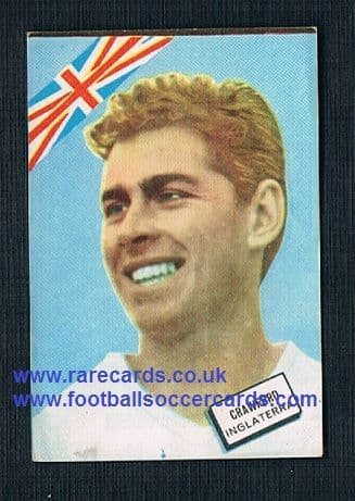 nr.MINT 1960s Spanish FKS Fher Disgra Ray Crawford Pompey Ipswich Wolves WBA Charlton England