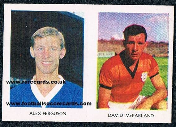 rookie Alex Ferguson A&BC pair 1967