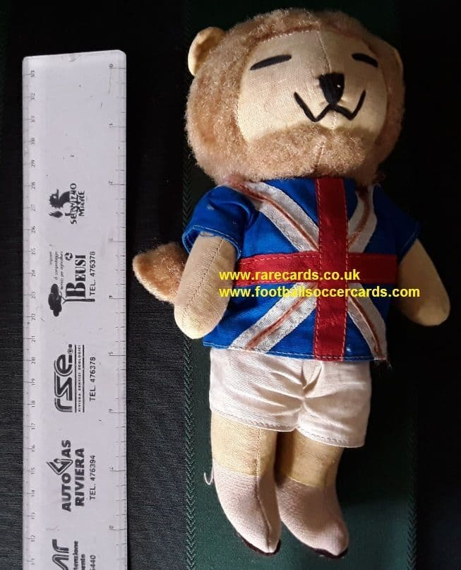 World Cup Willie 1966 cuddly toy doll England original WC66 collector's item